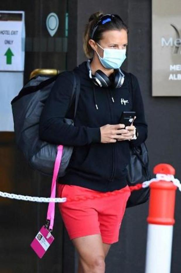 WTA Yarra Valley Classic - Insuffisamment remise de sa blessure à la cheville, Kirsten Flipkens déclare forfait