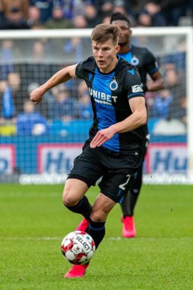 Jupiler Pro League - Eduard Sobol reste un an de plus à Bruges