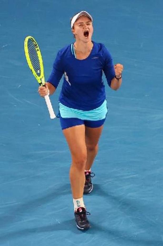 WTA Strasbourg: spécialiste du double, Krejcikova décroche son premier titre en simple