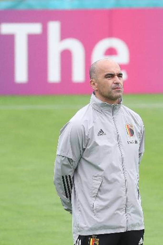 Martinez effectue 8 changements pour débuter contre la Finlande