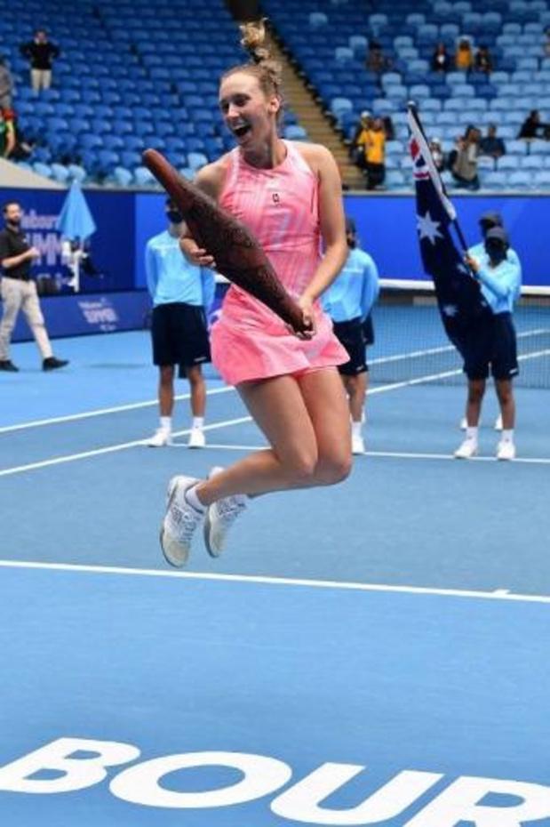 """WTA Gippsland Trophy - Sixième titre pour Elise Mertens """"très heureuse du résultat, mais aussi de la manière"""""""