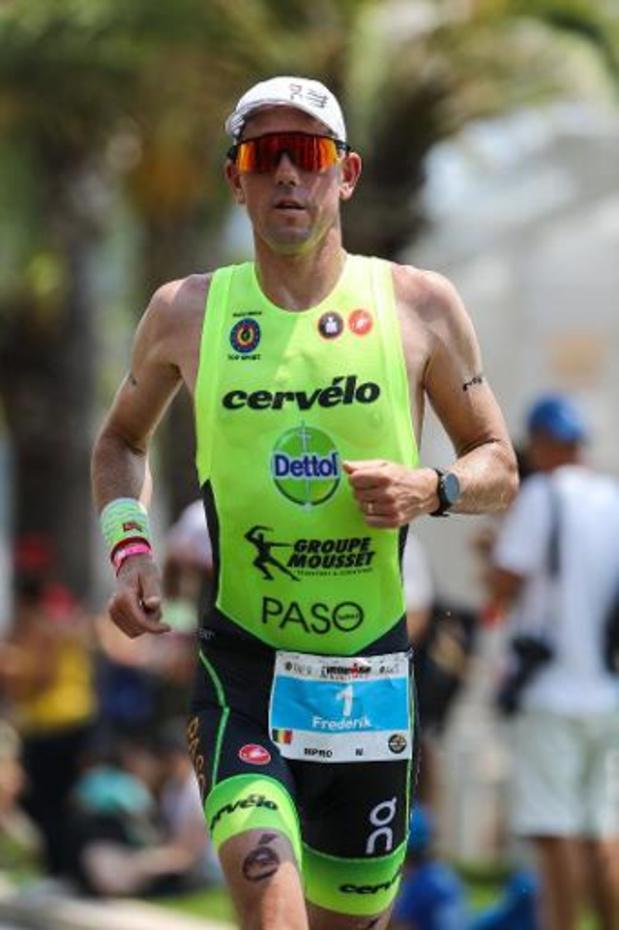 Ironman van Spanje - Frederik Van Lierde en Katrien Verstuyft eindigen op podium in Barcelona