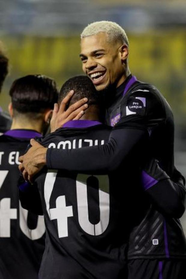 Coupe de Belgique - Anderlecht remporte largement le derby à l'Union et rejoint les quarts de finale