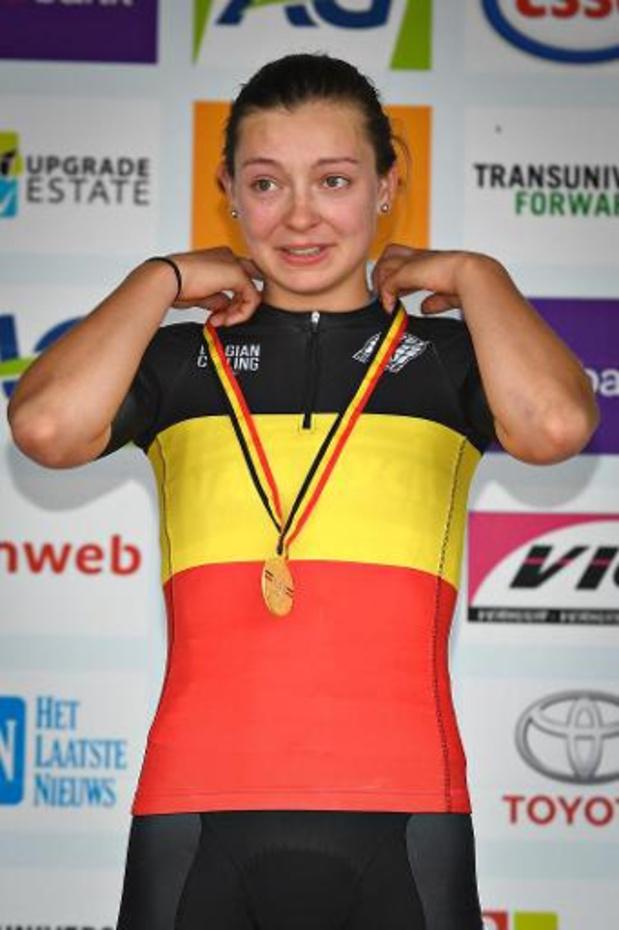 La championne de Belgique Jesse Vandenbulcke s'est fracturé une vertèbre cervicale