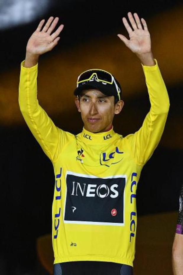 Egan Bernal favorable à un report du Tour de France