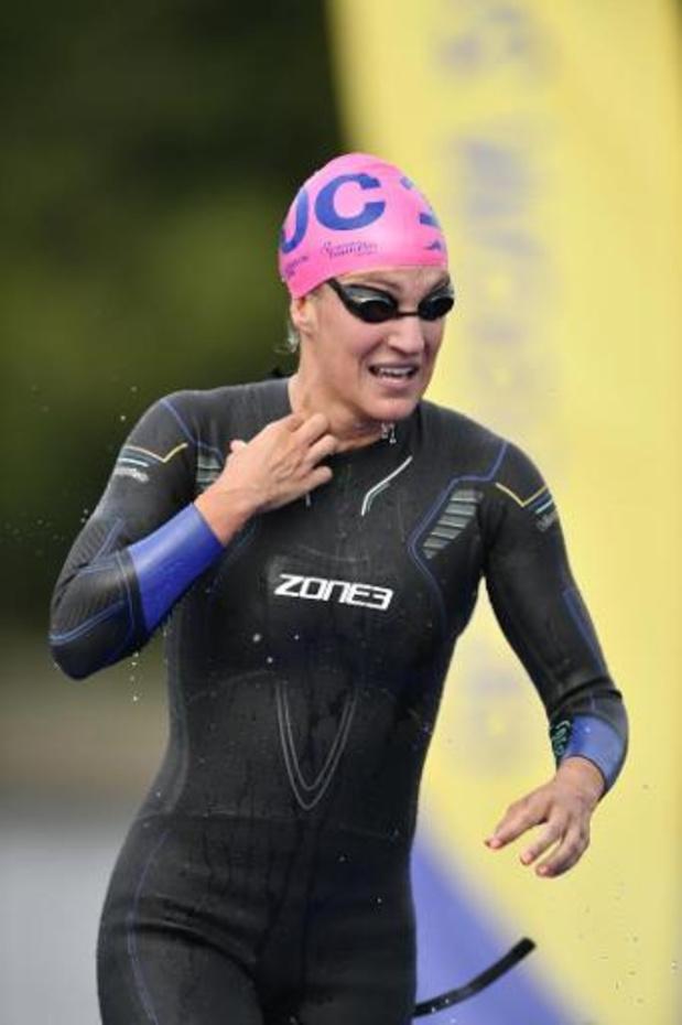 Coupe du monde de triathlon - Succès de la Bermudéenne Flora Dufy à Karlovy Vary, Valerie Barthelemy 14e