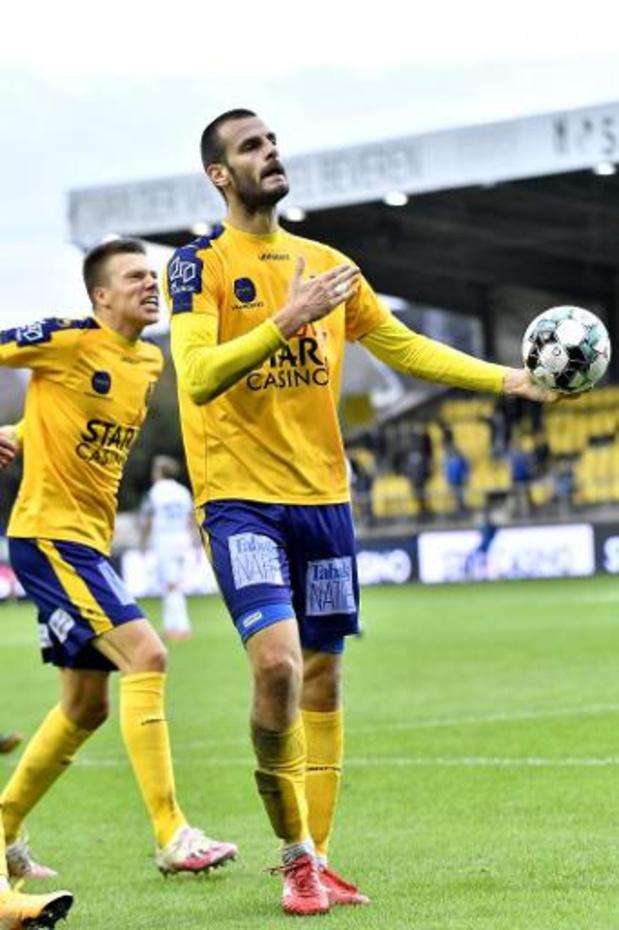 Jupiler Pro League - Waasland-Beveren redt op de valreep punt tegen Genk
