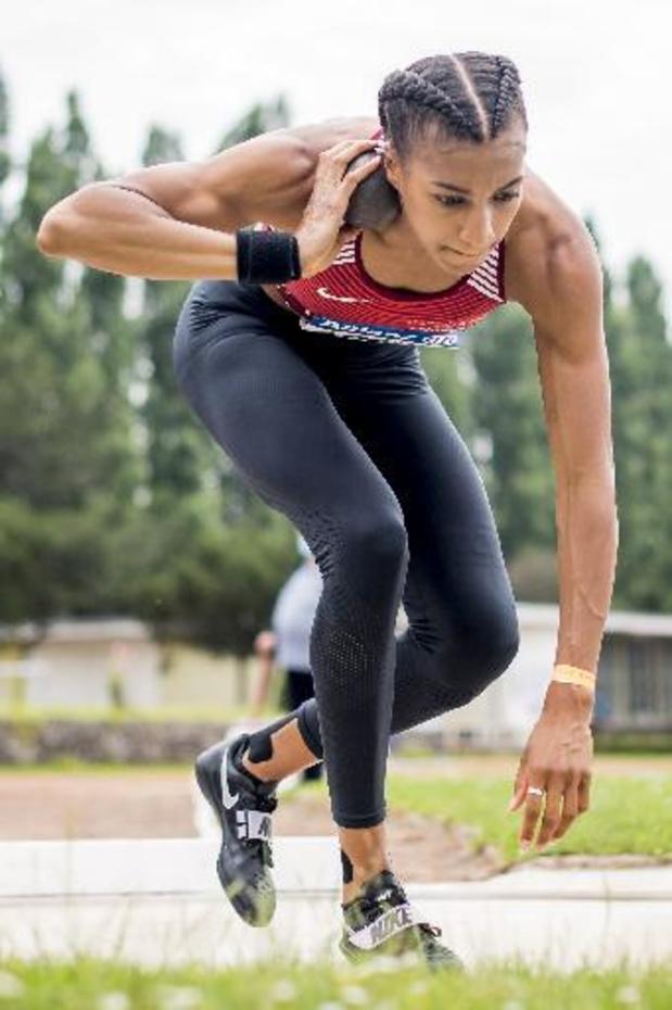 """Championnat de Belgique d'athlétisme - Nafissatou Thiam: """"Quelques douleurs certes, mais je ne suis pas du tout inquiète"""""""