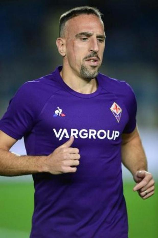 Franck Ribéry, qui a bousculé un arbitre assistant, suspendu trois matchs