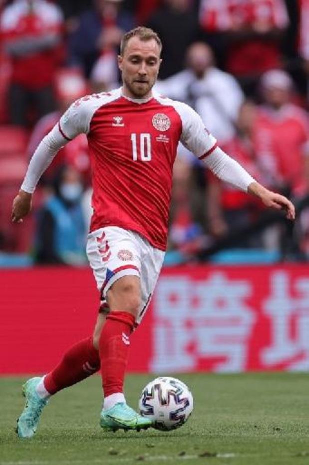 Euro 2020 - Eriksen désigné joueur du match Danemark - Finlande par l'UEFA