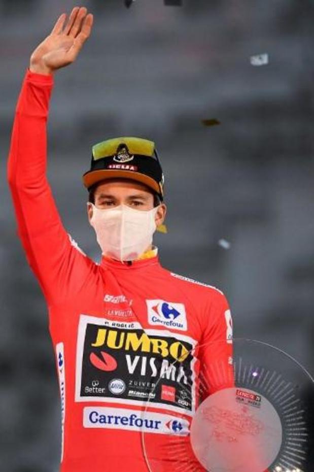 """Tour d'Espagne - Primoz Roglic: """"C'est beau de finir la saison comme ça"""""""