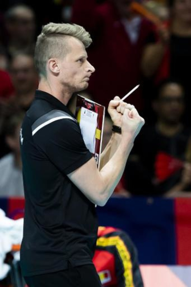 """EK volley (m) - Van Kerckhove na uitschakeling: """"Niemand trok de kar"""""""