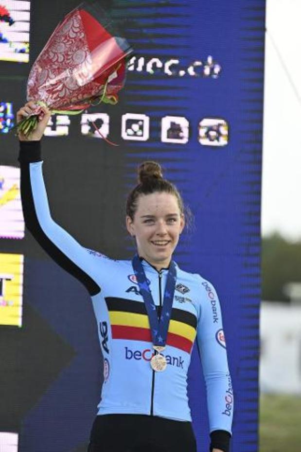 EK baanwielrennen - Dubbele Europese titel voor Belgische meisjes
