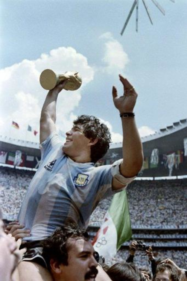 Bourreau des Belges en '86, Diego Maradona a collectionné les triomphes et les excès