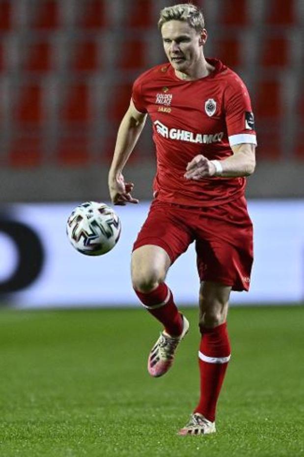 Racing Genk recrute Simen Jukleröd (Antwerp) pour la saison prochaine