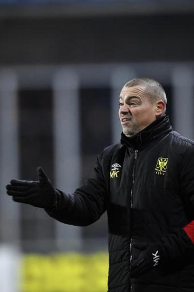 Saint-Trond et l'entraîneur Milos Kostic mettent un terme à leur collaboration