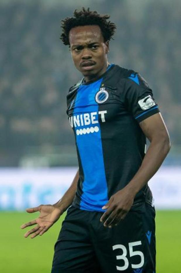 Percy Tau prêté cette saison au RSC Anderlecht
