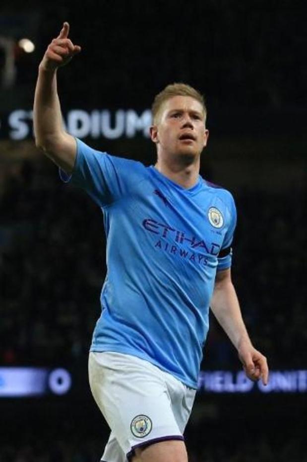 Les Belges à l'étranger - Un but et un assist pour Kevin De Bruyne, artisan de la victoire de Manchester City