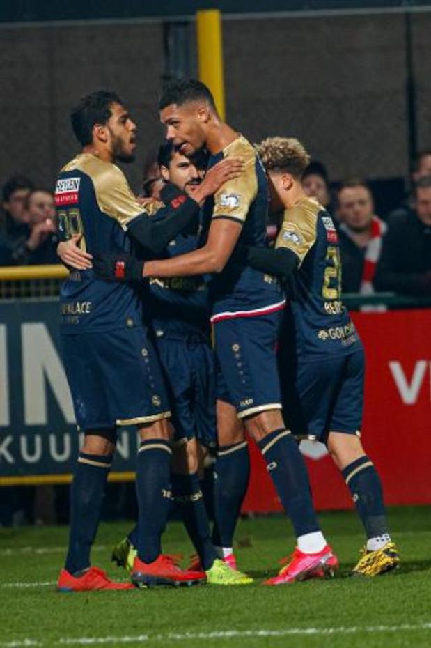 Croky Cup - L'Antwerp élimine Courtrai et retrouvera le Club de Bruges en finale de Coupe de Belgique