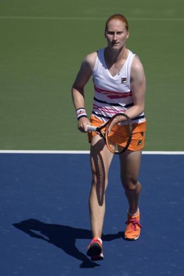 Open d'Australie - Le 2e tour échappe à nouveau à Alison Van Uytvanck, battue par la Française Fiona Ferro
