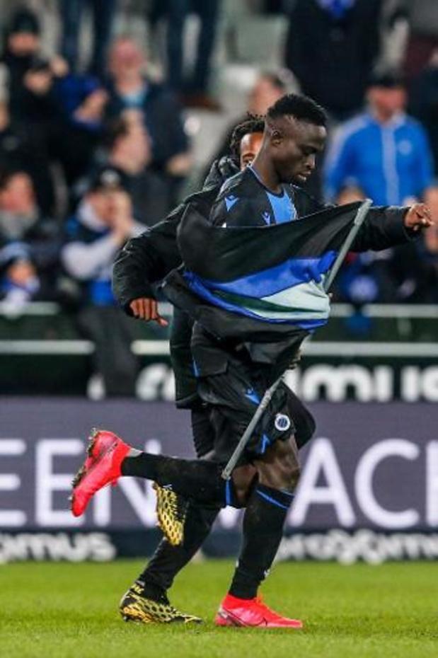 Percy Tau neemt afscheid van Club Brugge
