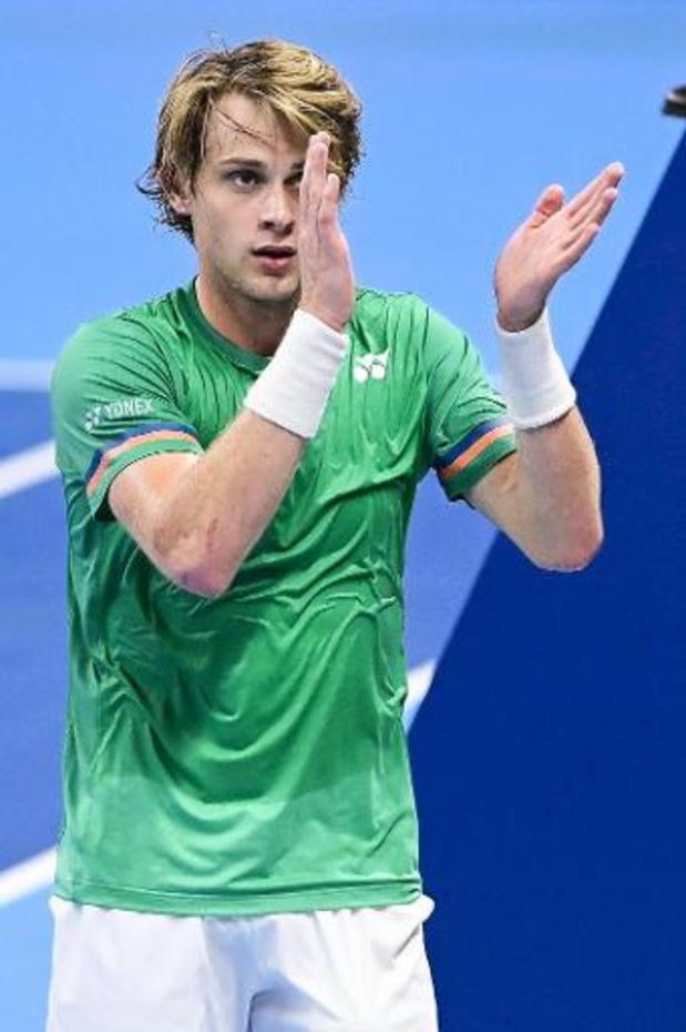 Classement ATP: Novak Djokovic tient son record, 311 semaines en N.1 mondial, deux Belges progressent bien