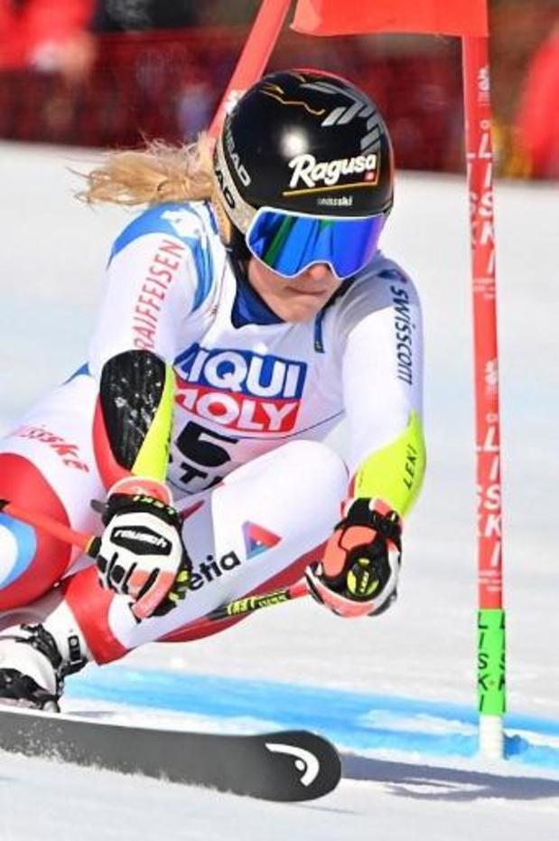 La Suissesse Lara Gut-Behrami s'offre le Géant après le Super-G