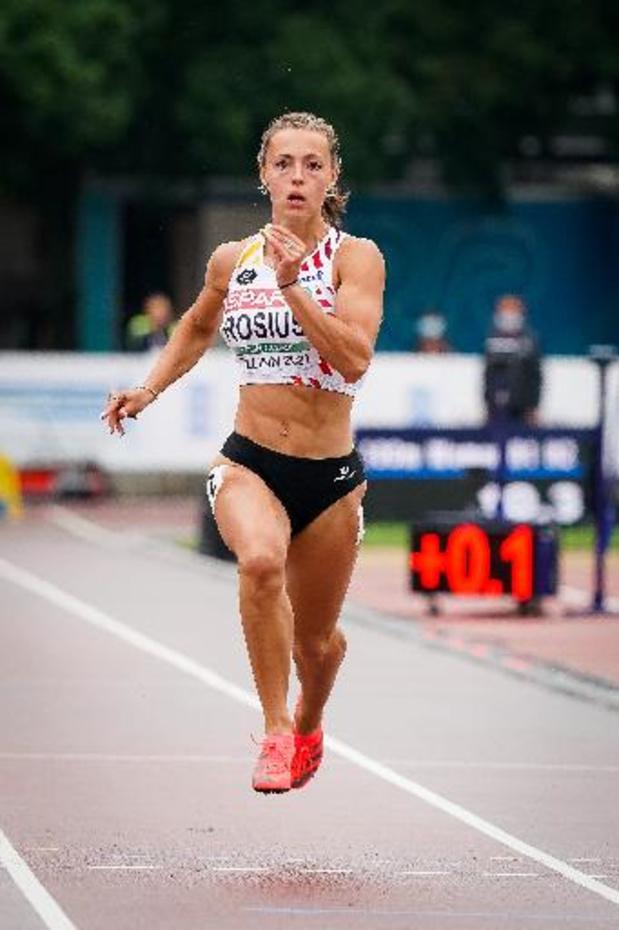 EK atletiek U23 - Rani Rosius met snelste tijd naar finale 100 meter