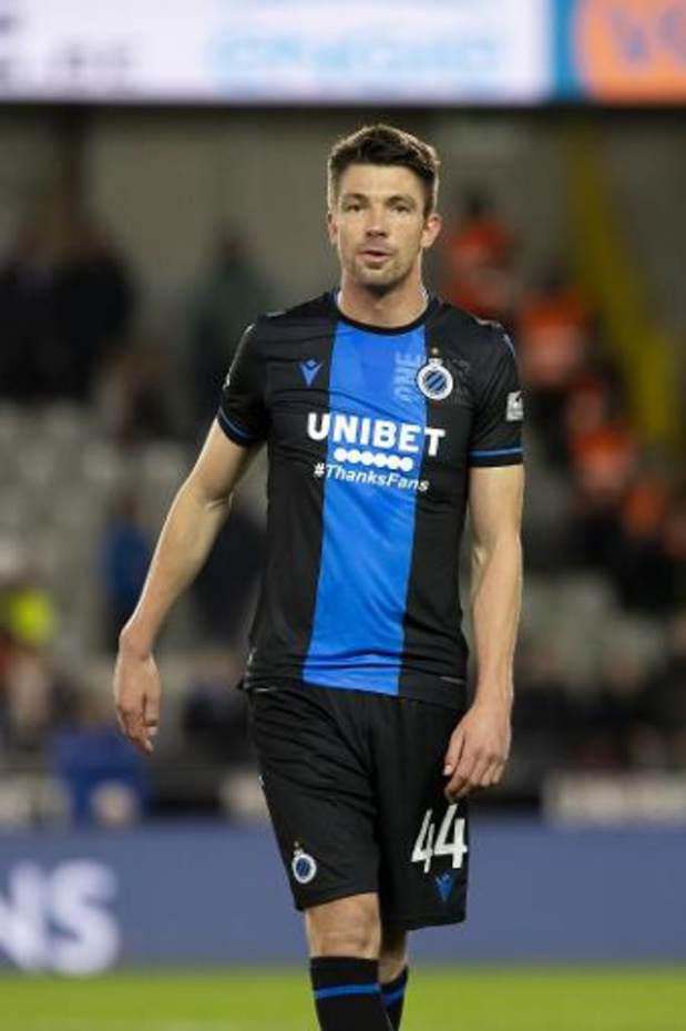 Brandon Mechele prolonge jusqu'en 2023 au Club de Bruges