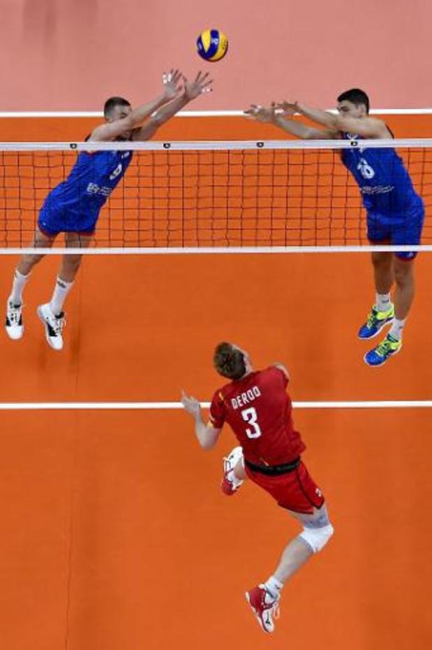 Euro de volley (m) - Les Red Dragons affronteront l'Ukraine samedi en 8es de finale au Sportpaleis d'Anvers