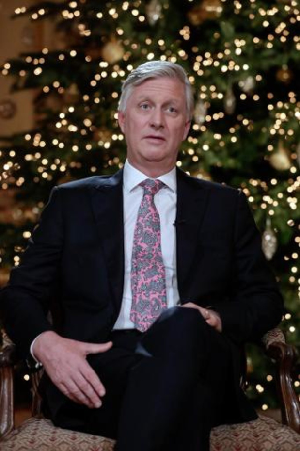 """Kerstboodschap koning - Koning Filip brengt hoop: """"Dag komt dat we opnieuw ongedwongen met elkaar omgaan"""""""
