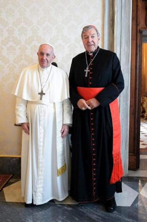 Paus ontving Australische kardinaal Pell