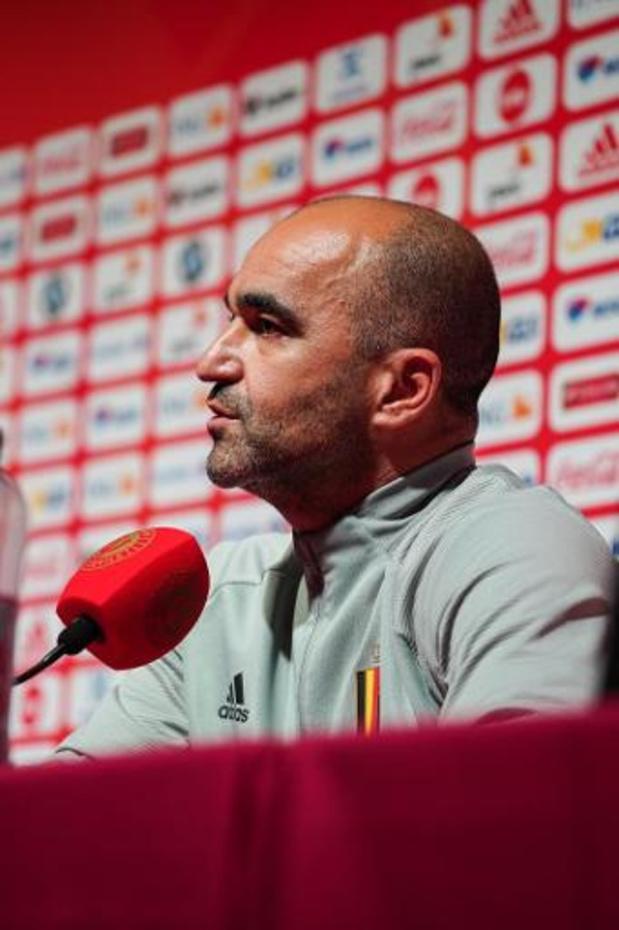 Diables Rouges - Roberto Martinez n'exclut pas un retour d'Eden Hazard