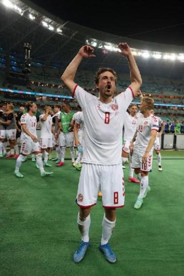Euro 2020 - Thomas Delaney, buteur, élu Homme du Match pour République tchèque/Danemark