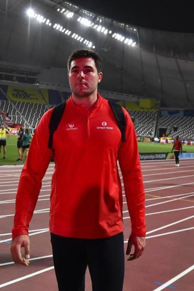 WK atletiek - Philip Milanov gaat eruit in de kwalificaties van het discuswerpen