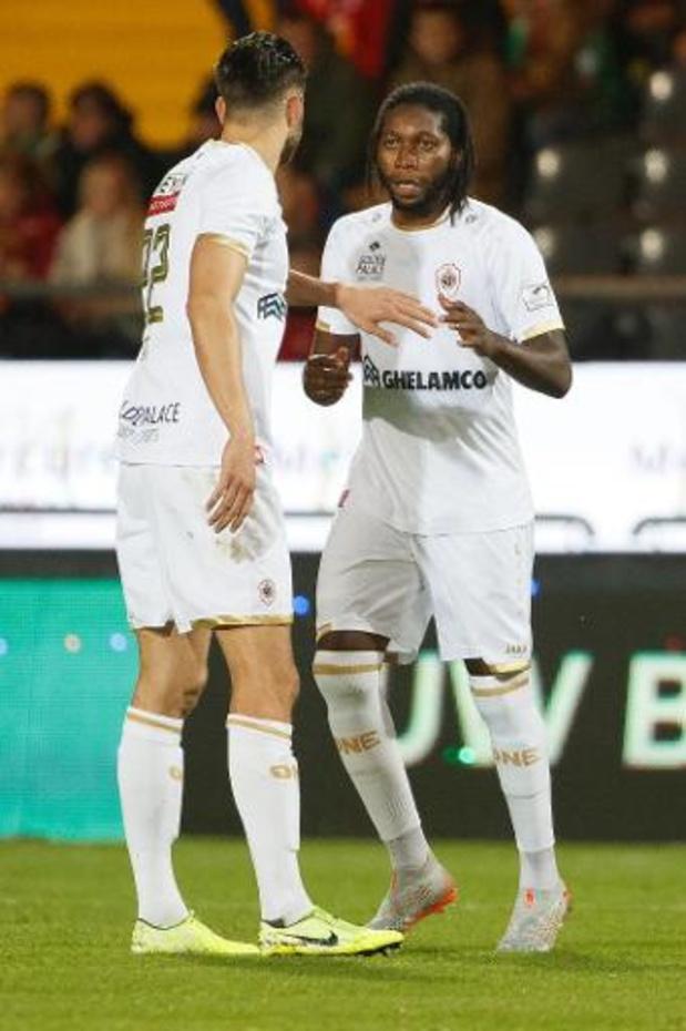 Jupiler Pro League - Ostende a bloqué l'Antwerp (1-1) pour clôturer la 9e journée