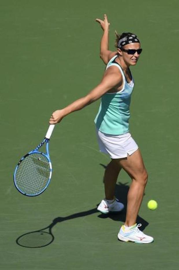 """WTA Cincinnati - Flipkens, battue par Konta: """"Je ne peux même pas être déçue, elle était trop forte"""""""