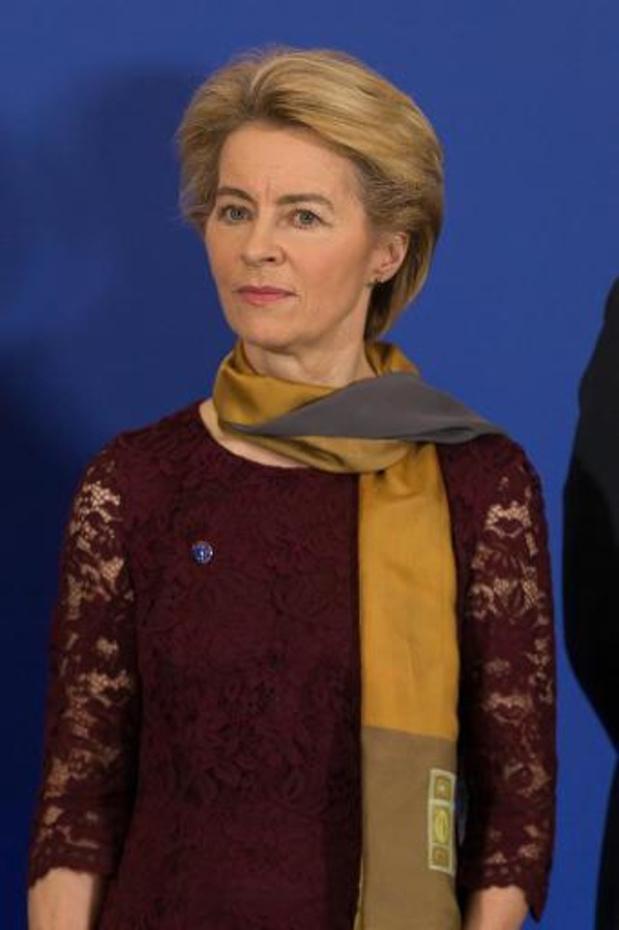 La nouvelle présidente de la Commission européenne défend le rôle précurseur de l'Europe