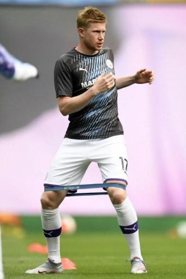 Kevin De Bruyne verkozen tot Speler van het Seizoen in Premier League
