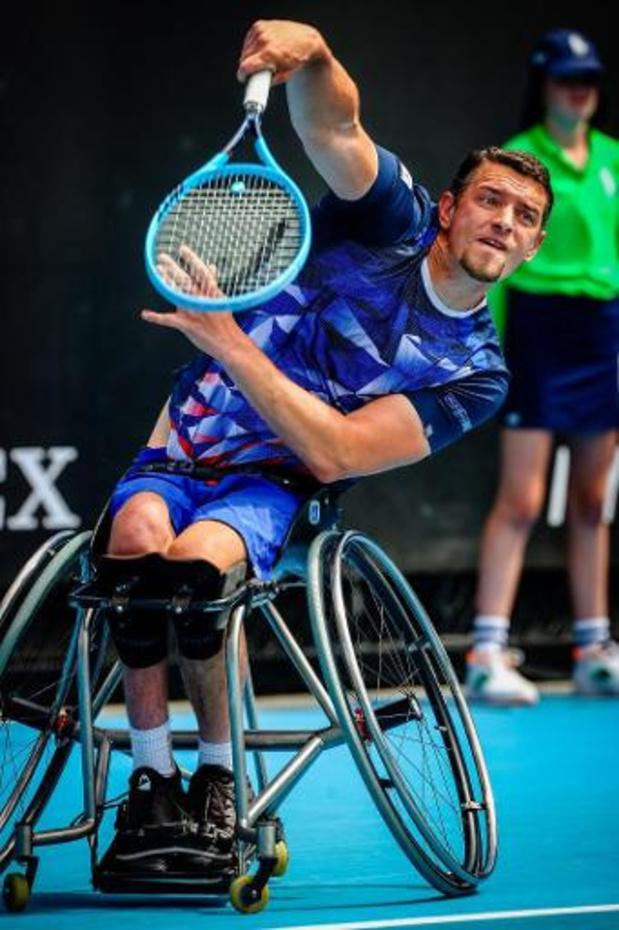 Open d'Australie - Joachim Gérard se hisse en finale de l'Open d'Australie de tennis en fauteuil roulant