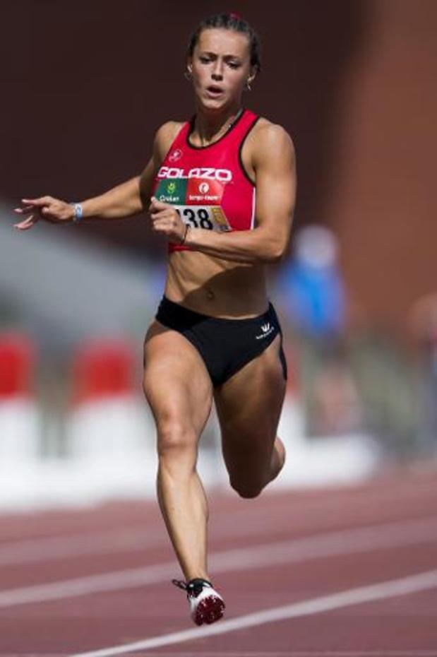 Rani Rosius la plus rapide du 100 m féminin
