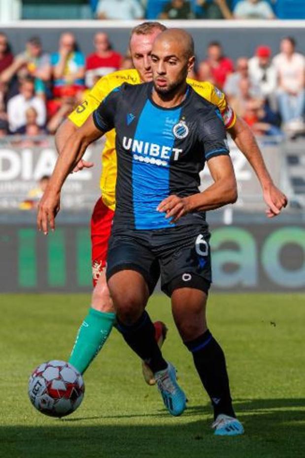 Sofyan Amrabat (Club Bruges) sera à la Fiorentina à partir du 1er juillet