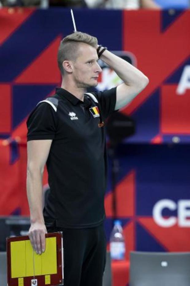 """EK volley (m) - Van Kerckhove: """"We moesten te vaak achter de feiten aanhollen"""""""