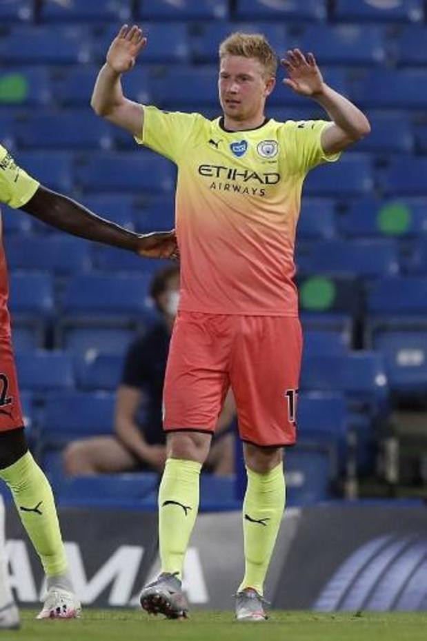 """De Bruyne optimiste malgré le titre de Liverpool: """"La saison peut encore être incroyable"""""""