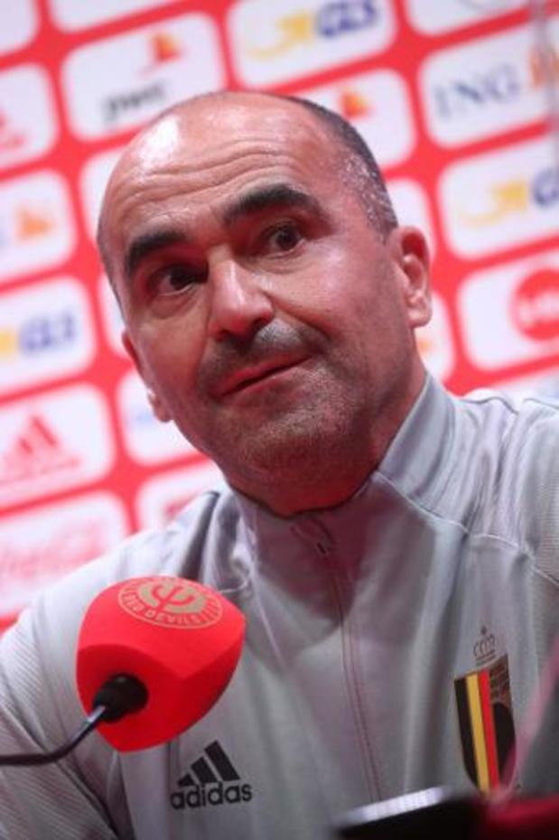 """Roberto Martinez heeft goed nieuws: """"Alle aanwezige spelers zijn beschikbaar"""""""