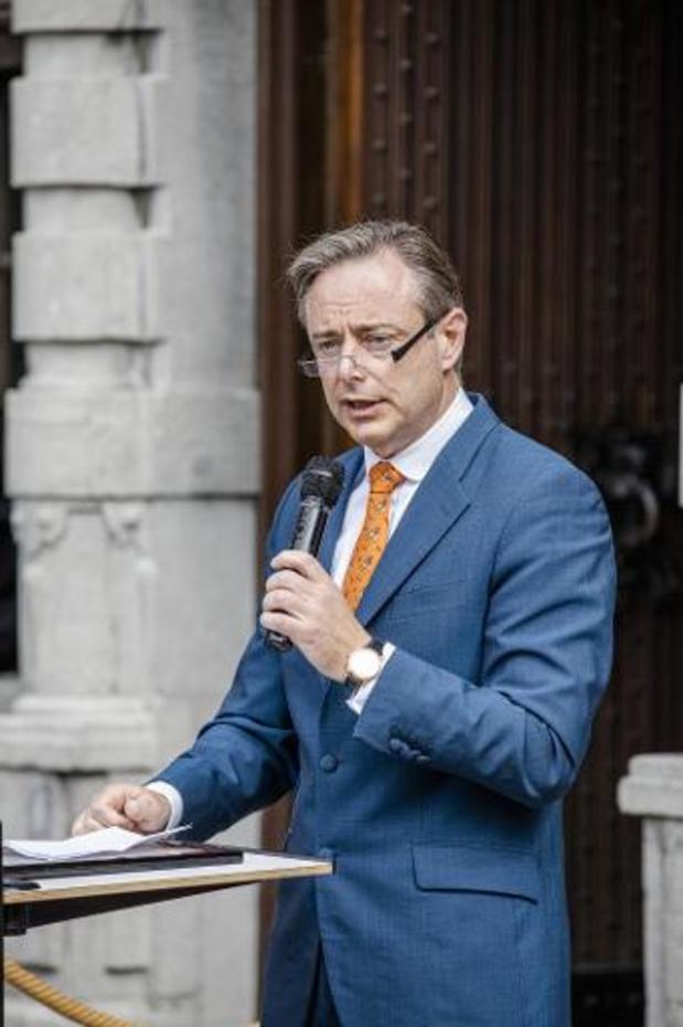 Bart De Wever appelle à renforcer la lutte contre la mafia de la drogue