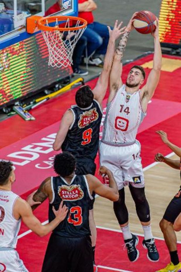 Euromillions Basket League - Anvers réussit son entrée en matière
