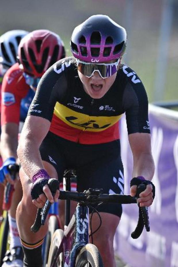 Lucinda Brand remporte le Tour de Thuringe devant Lotte Kopecky, 2e de l'ultime étape