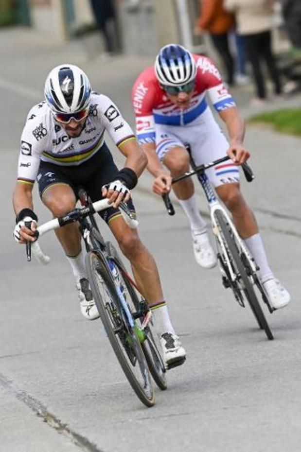 Julian Alaphilippe, motivé par son maillot de champion du monde, sera au Nieuwsblad