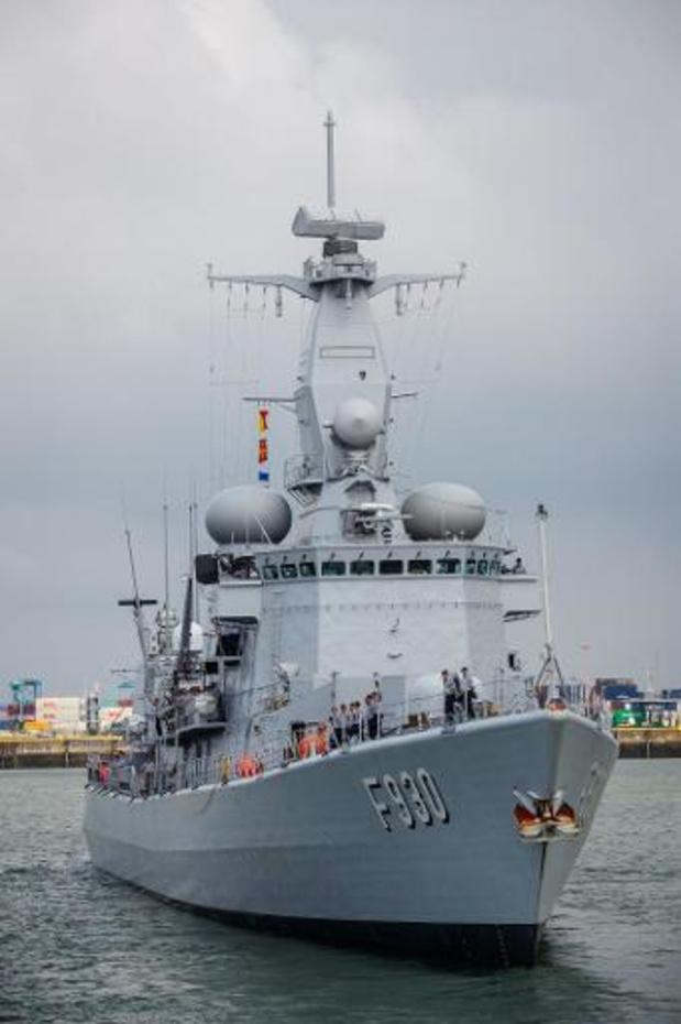 Leopold 1 vaart zondag uit voor escortering Frans vliegdekschip Charles de Gaulle